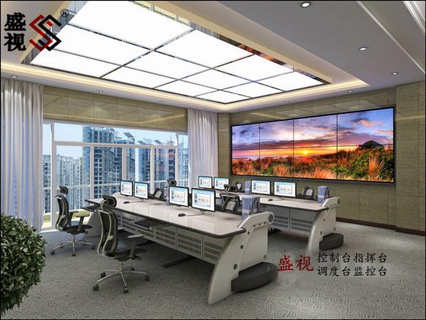 银行指挥调度中心控制台 调度台 监控台 指挥台 工作台