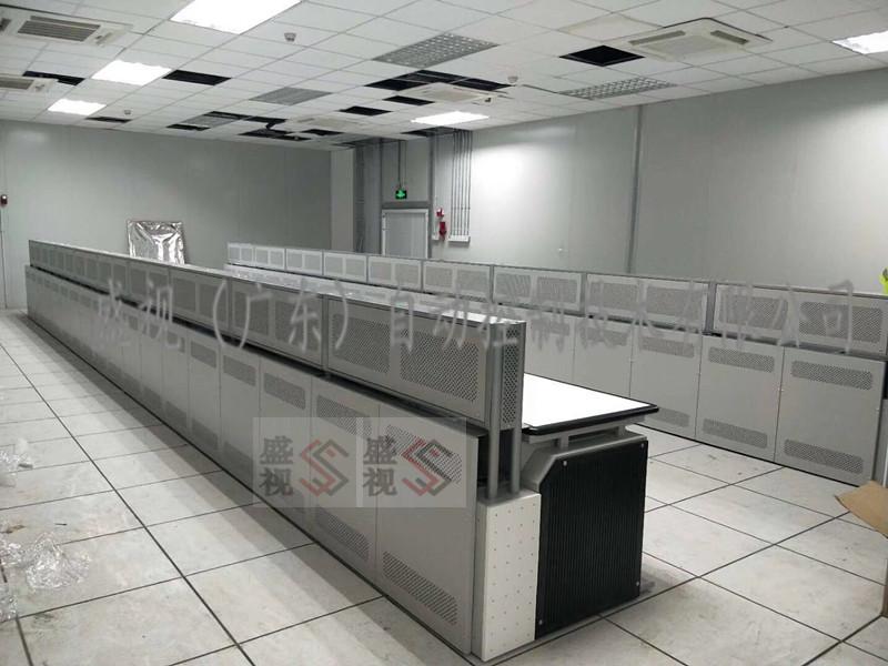 富士康监控中心控制台 指挥中心调度台